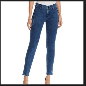 J Brand Zion High Rise Skinny Jeans